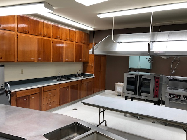 Kitchen in Francis Hall